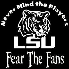 LSU Tigers Louisiana State University by screenprintedtshirts, $12.00