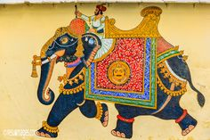 Elephant, Kingdom of Mewar - City Palace, Udaipur, Rajasthan