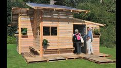 A home made of pallets!!!