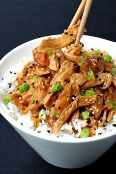 Slow Cooker Hawaiian Sticky Chicken