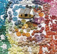 presentation of enamel and matte ceramic beads