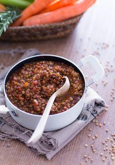 Ragù di lenticchie: gustosissimo, pronto in un'ora e perfetto anche per gli amici vegani. Assolutamente da provare! [Lentils ragù]