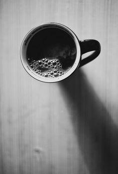 cup, eat, black and white, coffe, coffee, table, preto e branco, tea