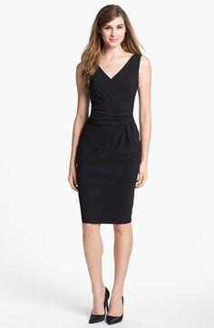Love this silhouette! (but at $710, it ain't gonna happen!)  La Petite Robe by Chiara Boni Sleeveless Sheath Dress | Nordstrom
