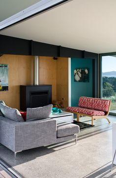 Pekapeka Beach House by Parsonson Architects