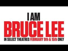 """So I finally finished watching the documentary """"I am Bruce Lee"""". I really enjoyed it - a very nice tribute to him, his life and his legacy and the vast influence he has had on so many people.     Proud to be a part of his legacy (even in a small way)."""
