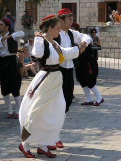 Traditional Dancers from Cilipi, Croatia