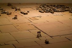 Michael Ashkin Miniature, Abstract, City, Summary, Miniatures, City Drawing, Cities