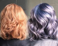 The formula that follows is after removal of direct dye with Malibu C- (orange yellow state) followed by stand Alone Olaplex treatment before coloring with Kenra.  Color by @thejesjewel. Formula: Stretched Root -Olaplex No.1 + 3 parts 8SM+10vol(3%)To 1 part blue booster. Midshaft / Ends-Olaplex No.1 + Kenra 8SM W/ 1 inch blue booster + 1 inch violet booster+10vol(3%). Process at room temp, rinse and follow with Olaplex No. 2 for 20 minutes. Rinse/shampoo/condition and voíla!
