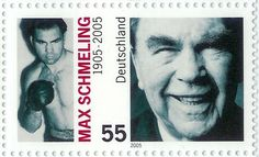 Max Schmeling stamp