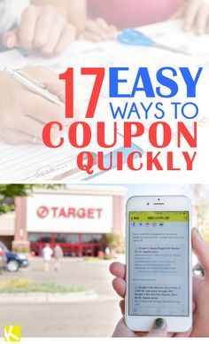 17+Easy+Ways+to+Coupon+Quickly