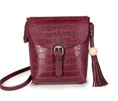 c17b358d4f3c Mini Crossbody Bag Tassel Crocodile Dana 5 colors