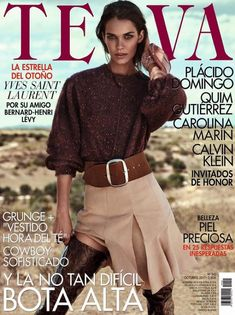 Garia Arias | Western Style Editorial | TELVA Magazine