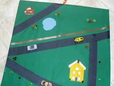 Toy car mat