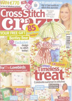Cross Stitch Crazy Issue 138 June 2010 Hardcopy