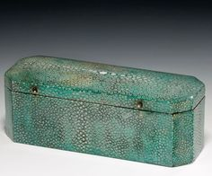 A Beautiful Regency Shagreen Box !