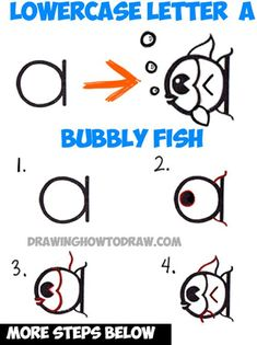 how to draw a flying fish