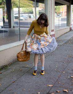 2919c976ac ... sale Petticoat- Courtesy of Doris Petticoats About the Benjamins  shoes-Courtesy of Modcloth Socks-Estate sale Coral beads-A gift Purse-Michael  Kors