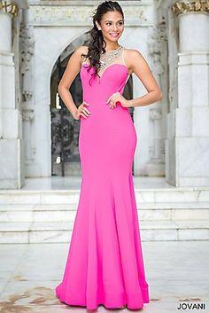 Sheer Top Mermaid Dress 32131
