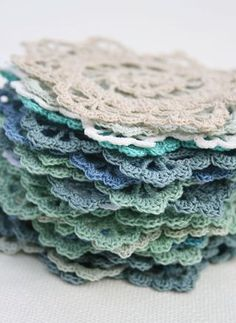 Crochet Lacy Doily - free pattern
