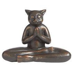 Meditating Cat from Pier One - this just makes me smile