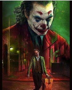 The Joker with Joaquin Phoenix Joker Film, Joker Comic, Joker Dc, Joker And Harley Quinn, Joker Hd Wallpaper, Joker Wallpapers, Joker Poster, Heath Ledger Joker, Creation Art