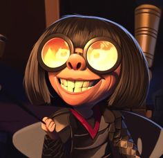 Edna Mode from The Incredibles by Jeff Delgado