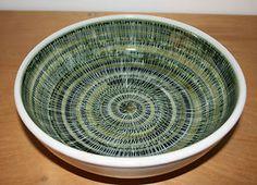 Rye Pottery sgraffito