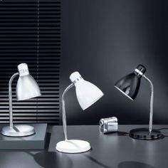 Flex-Schreibtischleuchte in drei Farben wählbar, Höhe 40cm