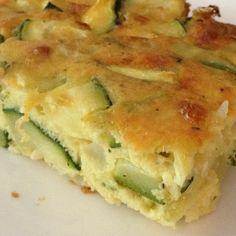 Low Carb Zucchini Pie Recipe #delish #lowcarb #recipe