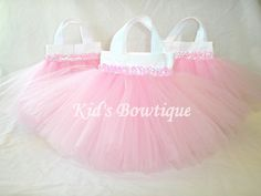 Set of 15 Sweet Baby Pink TUTU Sequins Party Favor by kidsbowtique, $142.50