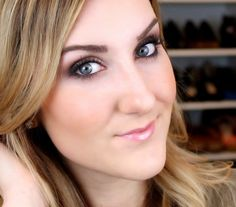 TiffanyD: Soft Smoky Eye Tutorial- Naked 3 Palette
