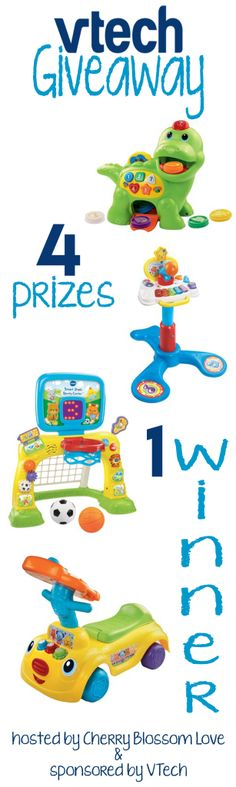 VTech Review & Giveaway [ends November 7th at midnight EST]