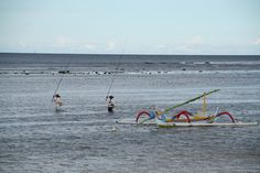 Sea Waves, Balinese, Fisher, Ocean, Boat, Colours, Island, Traditional, Ocean Waves