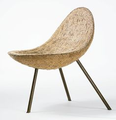 Esoteric Survey: Noguchi Prototype: Sotheby's Important Century Design December 2011 Mid Century Chair, Mid Century Furniture, Vintage Furniture Design, Modern Furniture, Prop Design, Chair Design, Isamu Noguchi, Chairs For Sale, Cool Chairs