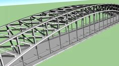 Google Sketchup - Sydney Harbour Bridge