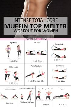 Workout For Flat Stomach, Belly Fat Workout, Flat Tummy, Belly Fat Burning Workout, Flat Belly, Stomach Workout For Beginners, Tummy Workout, Fitness Workout For Women, Ladies Workout
