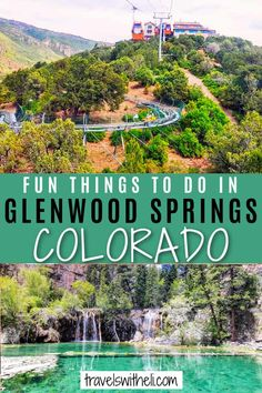 Planning a vacation to Colorado? You won't want to miss staying a few days in Glenwood Springs. There are so many fun things to do in Glenwood Springs, Colorado in the summer or winter. From hiking Hanging Lake to enjoying the Glenwood Hot Springs Pool. Glenwood Springs is the perfect Colorado vacation town. Travel With Kids, Us Travel, Family Travel, Glenwood Springs Colorado, Road Trip To Colorado, Travel Information, Hot Springs, Road Trips, Things To Do