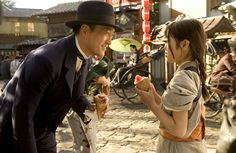 Memoirs of a Geisha (2005) - My favorite scene from the movie is when the Chairman notices a crying Chiyo, and buys her flavored ice just to see her smile. It's simple and sweet, with a lovely song in the background.