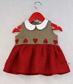Urocza sukienka dla dziewczynki!