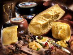 Bodegón de quesos - Un exótico bodegón de quesos para deleitarse.