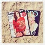 Voici les 2 magazines québécois que j'ai vus le plus à Punta Cana pendant la relâche. #voyage #lecture #quebec #instagram