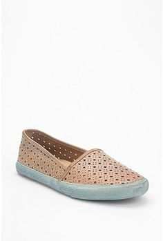 frye perforated slip-on