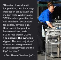 The system is rigged.