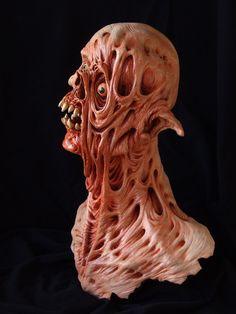 Twisted - sculpture: side view by revenant-99.deviantart.com on @deviantART