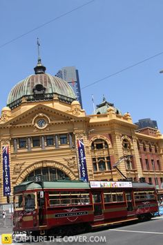 Flinders Street #CaptureTheCover entry - by Itziar in Melbourne's Inner City Northern Region. Click to enter your photos!