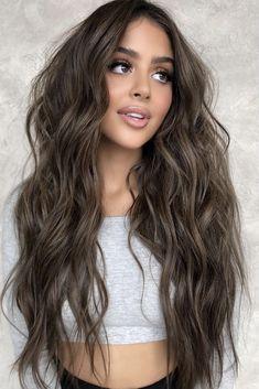 Brown Hair Inspo, Brown Hair Inspiration, Hair Color For Brown Skin, Cool Brown Hair, Natural Brown Hair, Hair Color Dark, Light Brown Hair, Hair Color Ideas For Dark Hair, Brown Hair Balayage