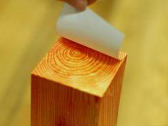 wood sticky notes