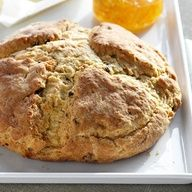 Traditional Irish Food: Irish Soda Bread        Irish soda bread, a longstanding and delicious St. Patricks Day tradition, is the perfect accompaniment to corned beef and cabbage. Add raisins to give it extra flavor.