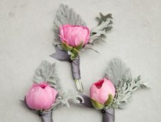 Industrial Grey And Playful Pink Wedding Inspiration